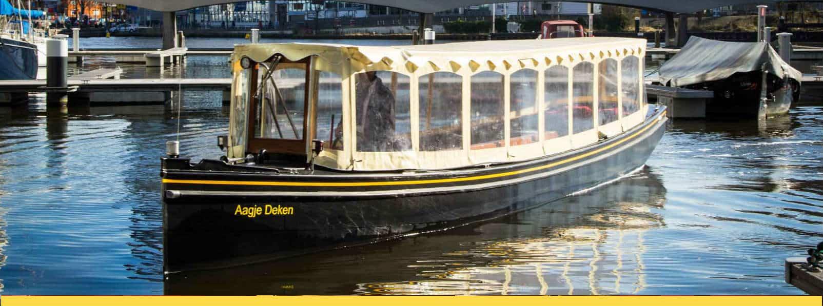 Aagje Deken salonboot Amsterdam