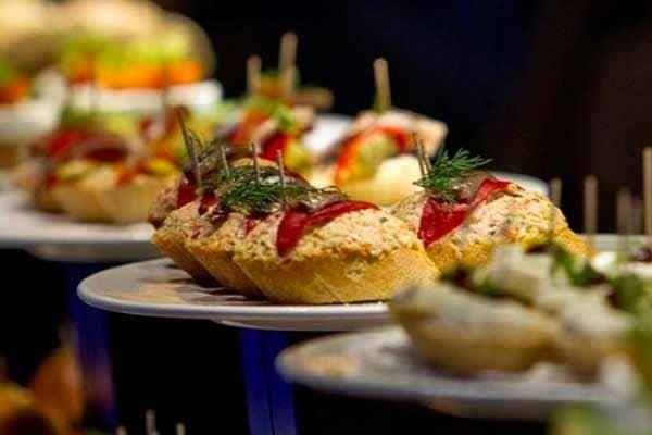 Baskische Pintxos tapas diner
