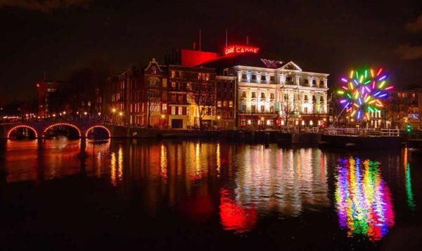 Amsterdam light festival carre Amsterdam