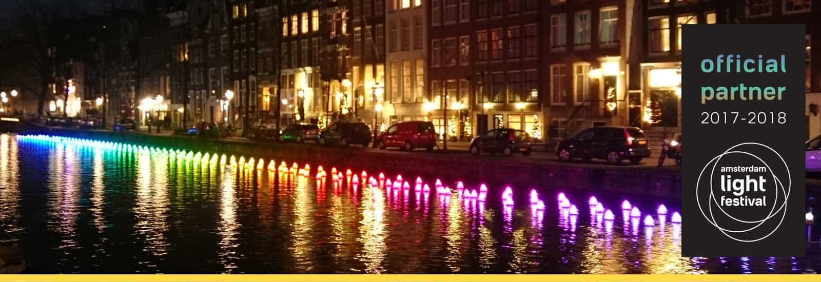 Amsterdam light festival partner