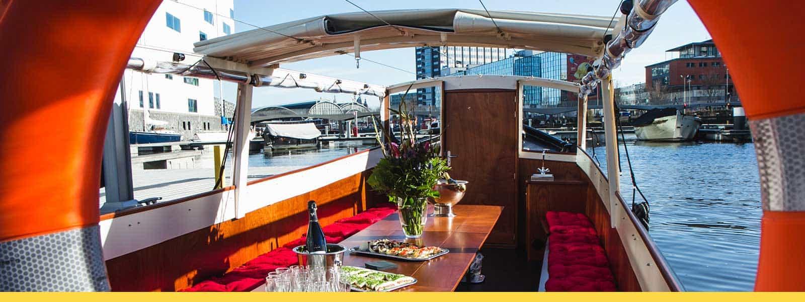 Geliefde Tapasboot Amsterdam   Borreltocht met Shared Tapas #TN57