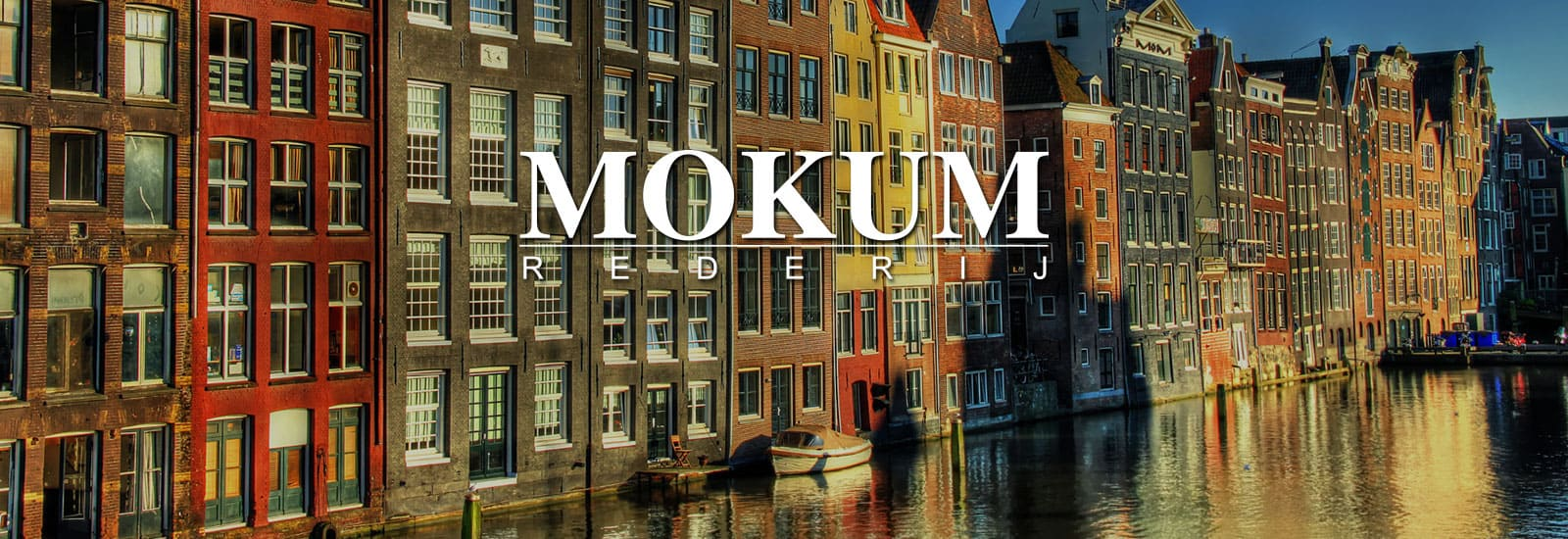 Contact pagina Rederij Mokum
