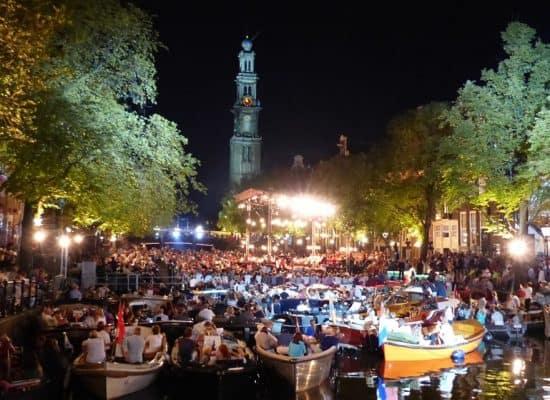 Grachtenfestival 2018 Prinsengracht concert