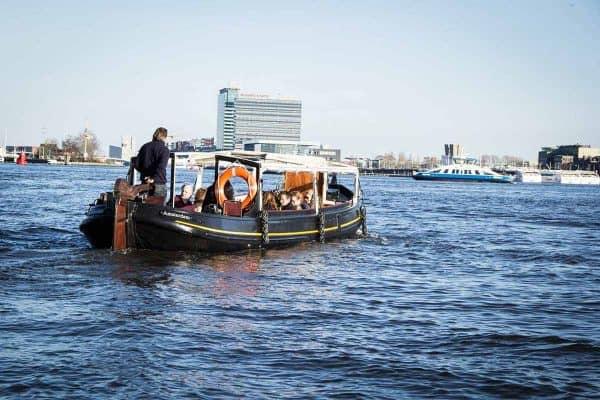 Stella Maris salonboot Amsterdam