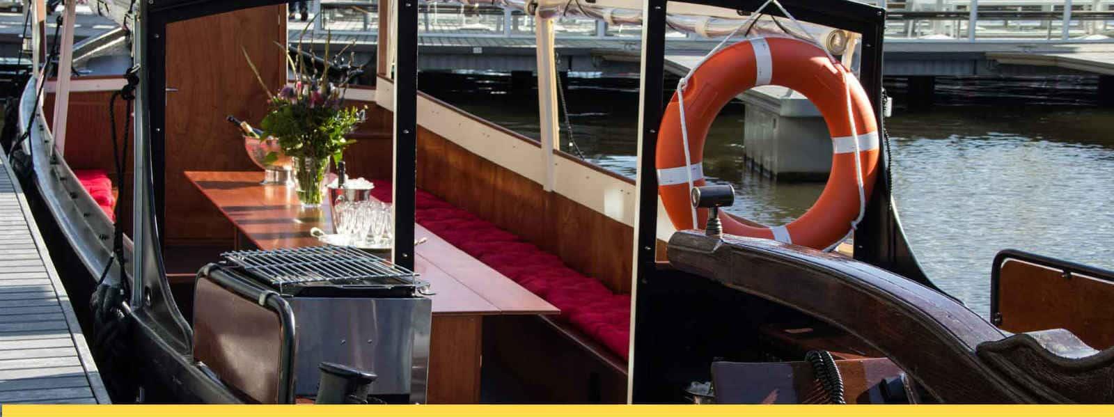 Stella Maris BBQ op het water