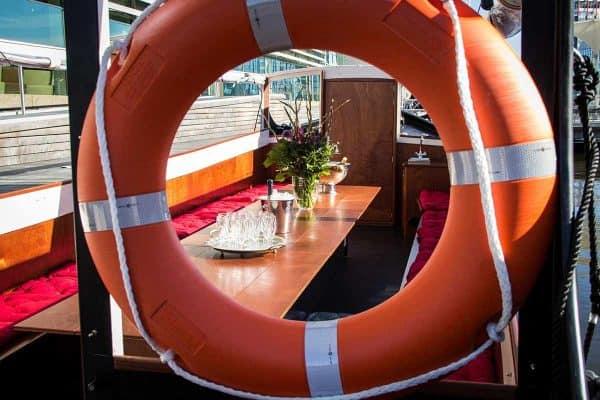 vrijdagmiddag borrelboot
