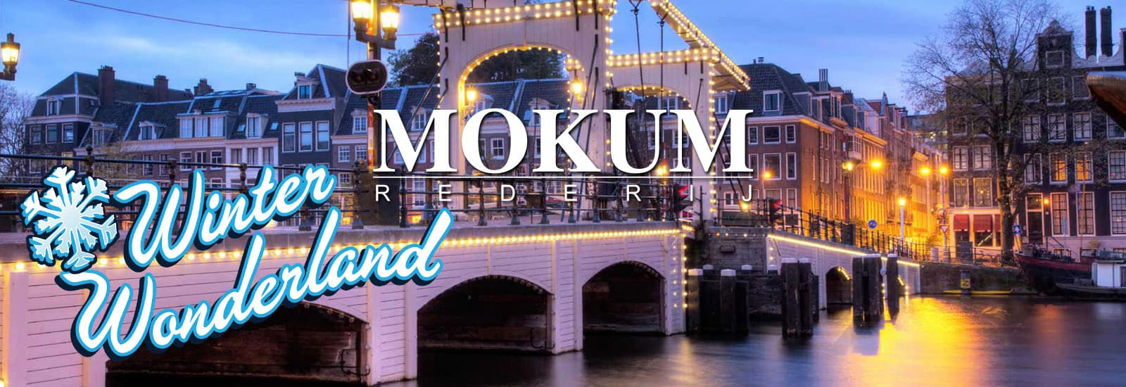 Winter Wonderland Amsterdam Rederij Mokum