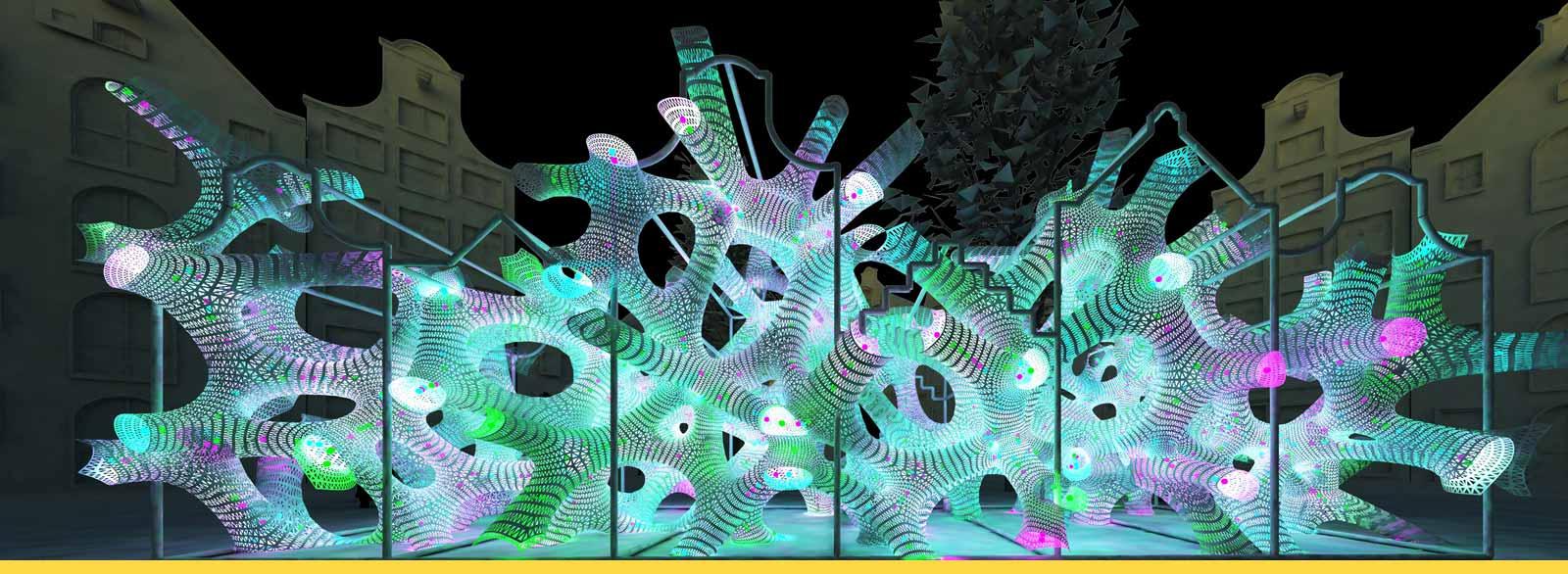 amsterdam light festival rhizome house