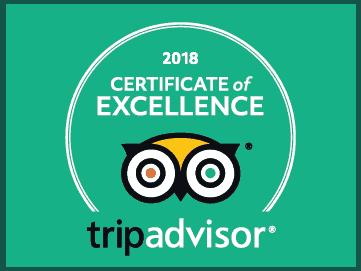certifcate of excellence trip advisor rederij mokum amsterdam