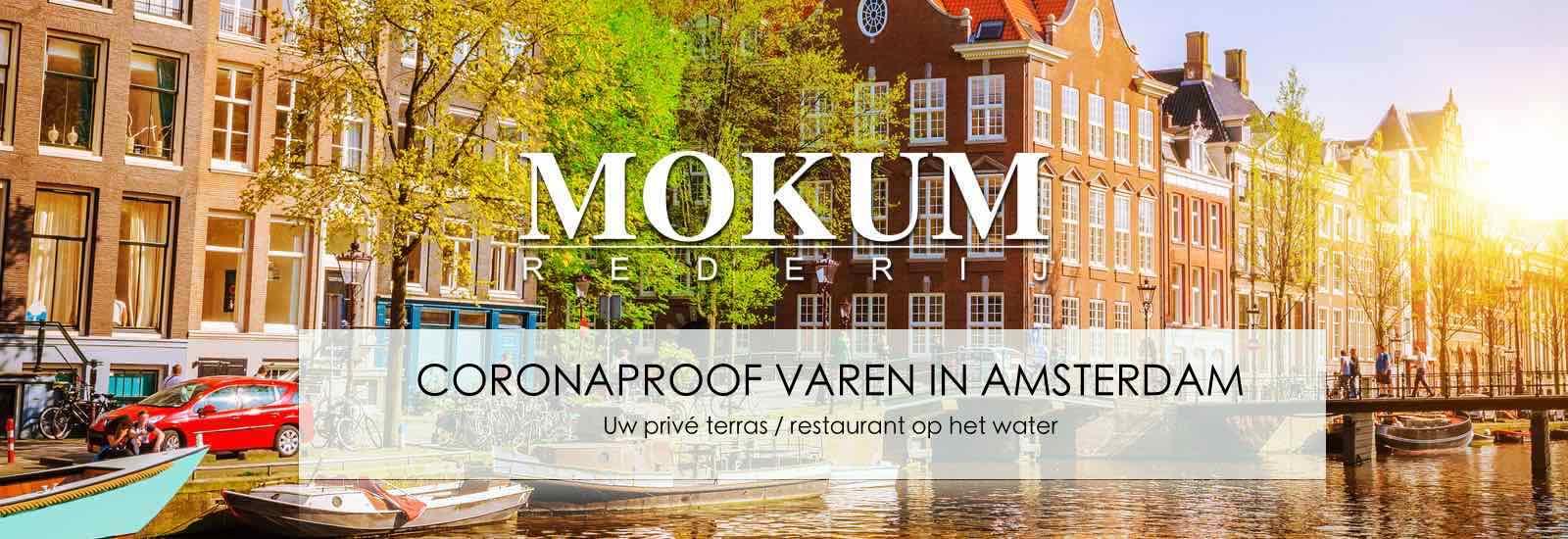 prive terras in Amsterdam Corona