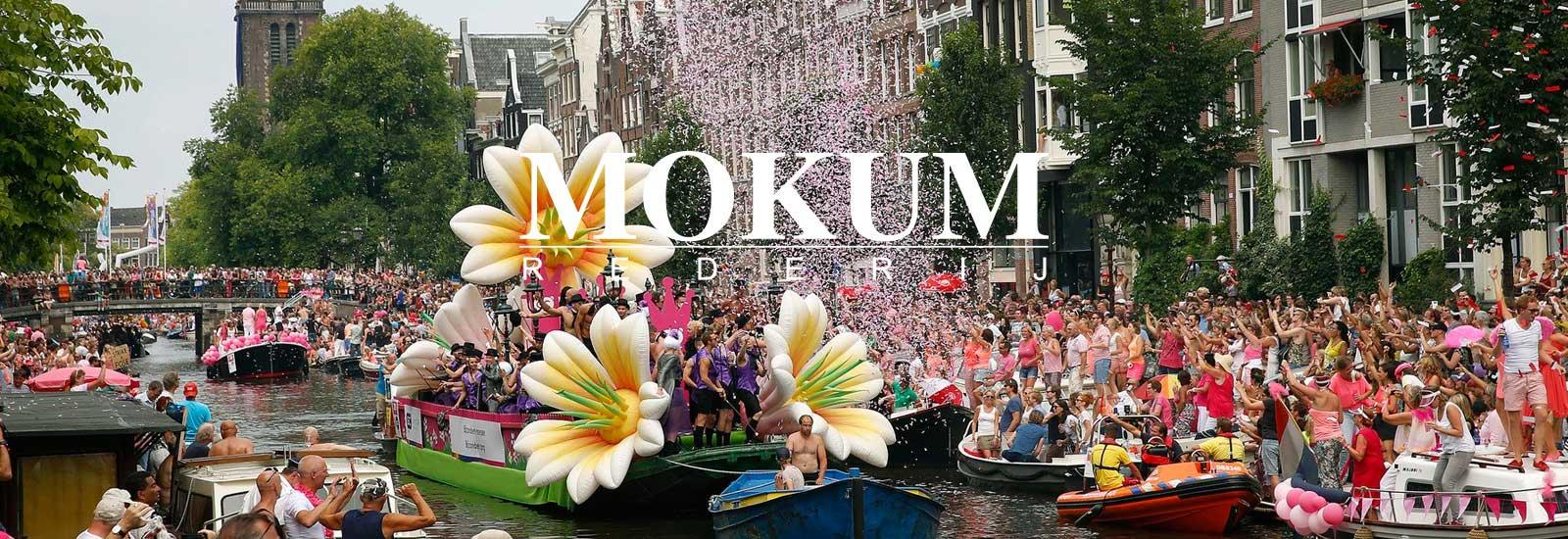 gay pride boot huren Amsterdam