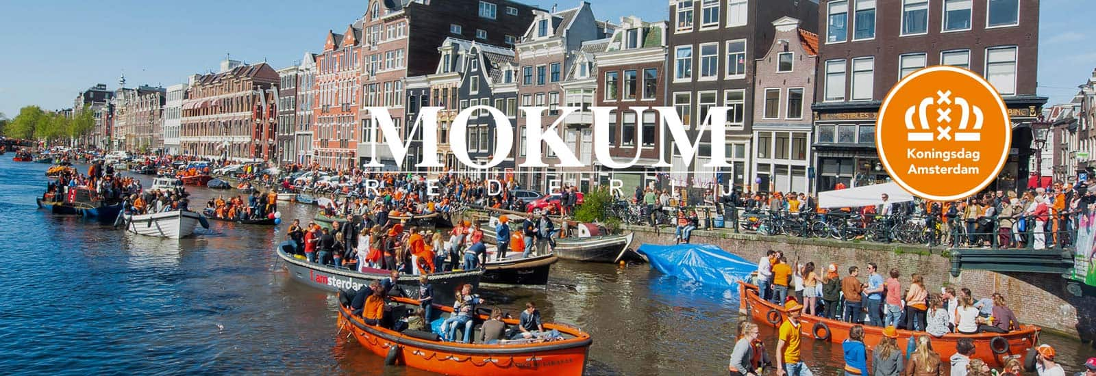 huur een boot koningsdag Amsterdam