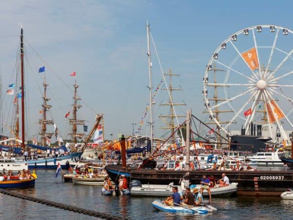 lunchtocht sail 2020 amsterdam