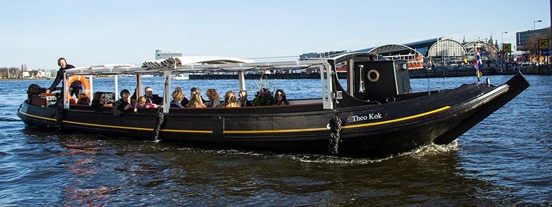 salonboot boot huren in amsterdam