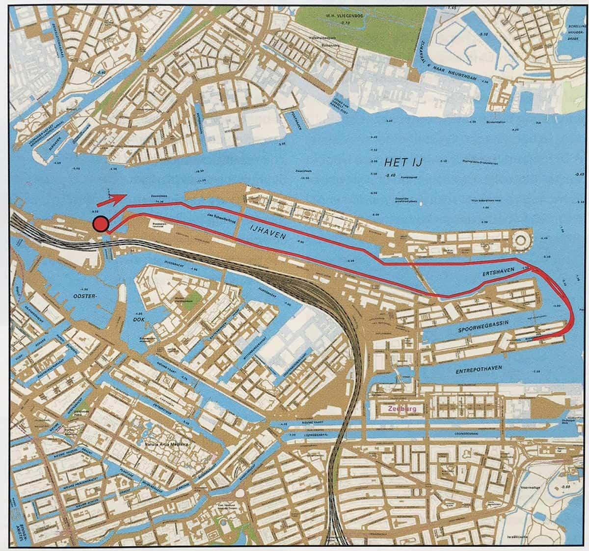vaartocht oostelijk havengebied-amsterdam